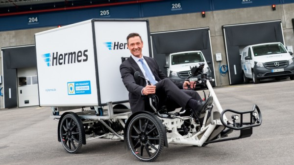 Eröffnung Hermes Logistik-Center