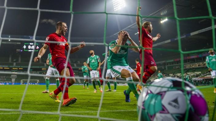 Sport Bilder des Tages Fußball: 1. Bundesliga, Saison 2020/2021, 7. Spieltag, SV Werder Bremen - 1. FC Köln am 07.11.202