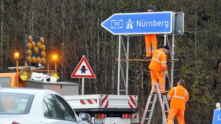Straßenmeister, Autobahnmeisterei