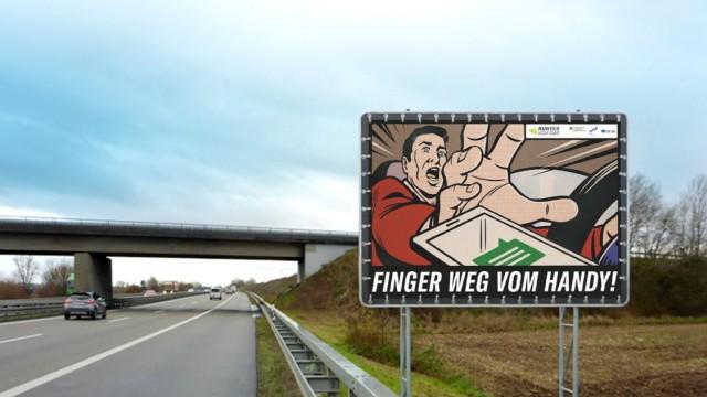 """Neue Kampagne """"Runter vom Gas"""" des Verkehrssicherheitsrats (DVR)"""