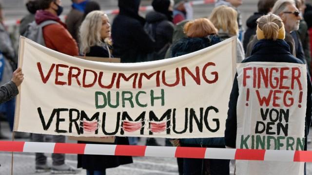 Proteste in München