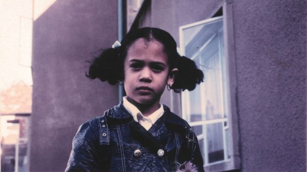 Kamala Harris is seen as a child in an undated photo