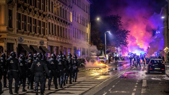 Leipzig Querdenken Polizei Journalisten