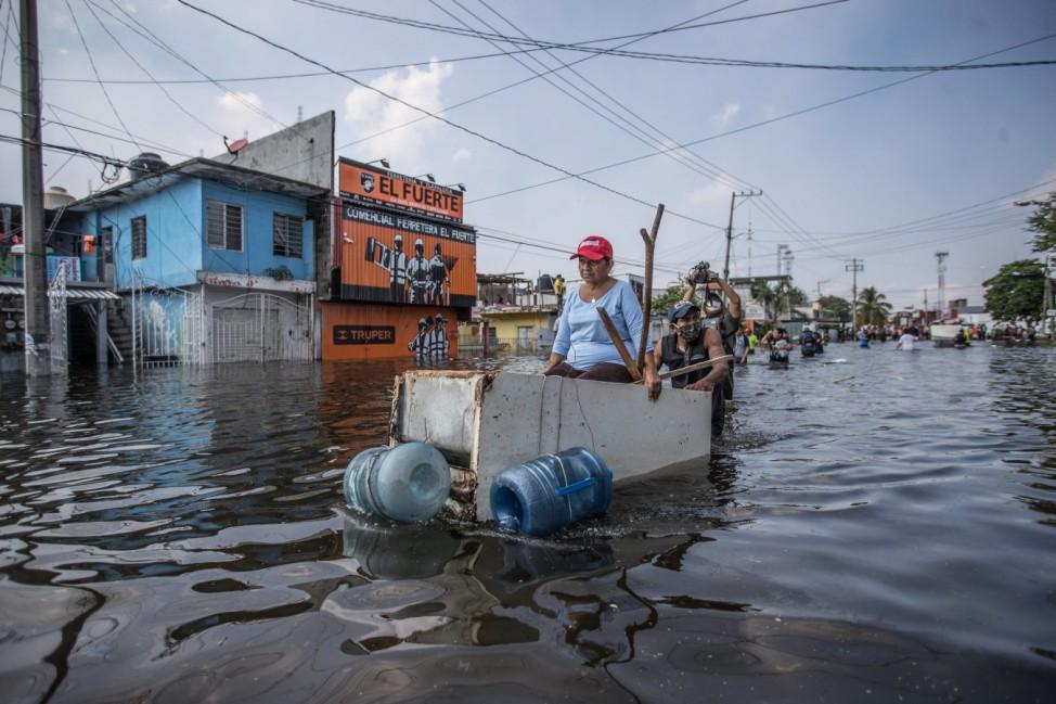 Hochwasser in Mexiko