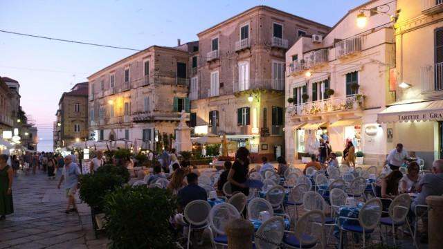 Piazza in Tropea