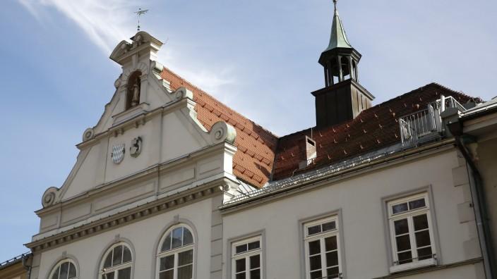 Rathaus Wolfratshausen Neorenaissance Architektur Marienplatz