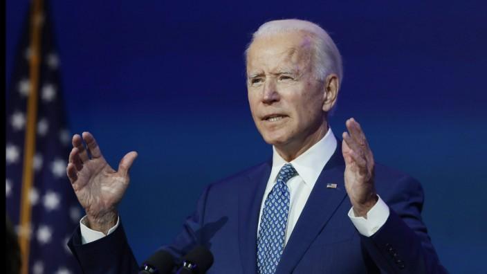 Biden Präsident elect Machtübergabe