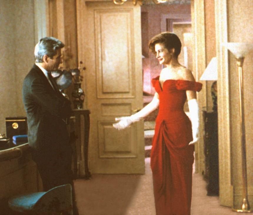 PRETTY WOMAN, Richard Gere, Julia Roberts, 1990 Buena Vista Pictures/Courtesy Everett Collection !ACHTUNG AUFNAHMEDATUM
