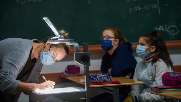 Schulen Masken Corona