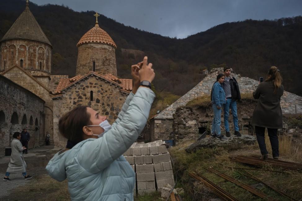 Armenians Leave Areas Ceded To Azerbaijan Control
