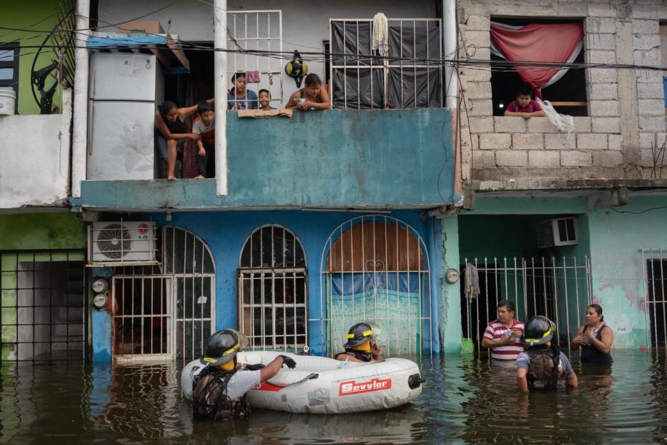 Überschwemmungen in Mexiko