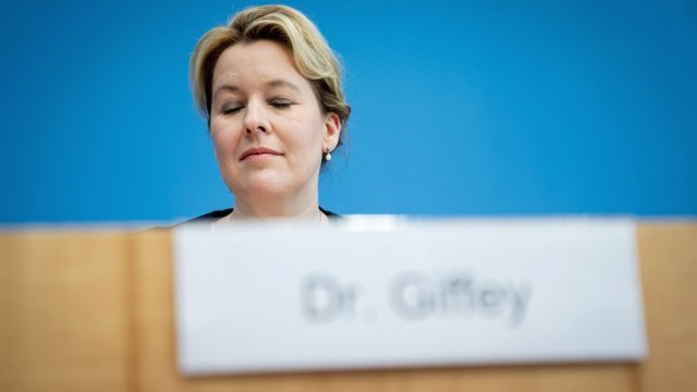 News conference of German Ministers Spahn, Giffey and Heil in Berlin