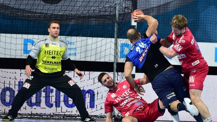 25.10.2020 - Handball - 1. Bundesliga LIQUI MOLY HBL - Saison 2020 2021 - 05. Spieltag: HC Erlangen Metropolregion Nürn