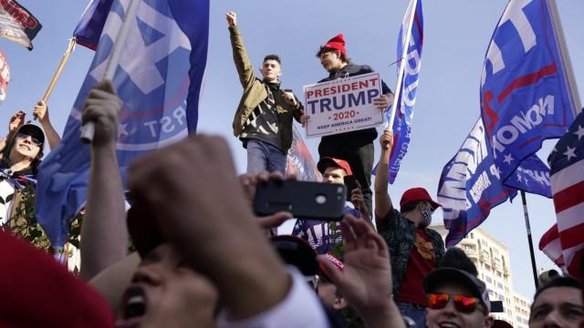 Nach der Präsidentschaftswahl in den USA - Proteste