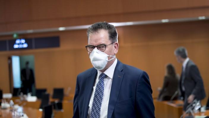 Gerd Mueller, Kabinett DEU, Deutschland, Germany, Berlin, 04.11.2020 Gerd Mueller, Bundesminister fuer wirtschaftliche