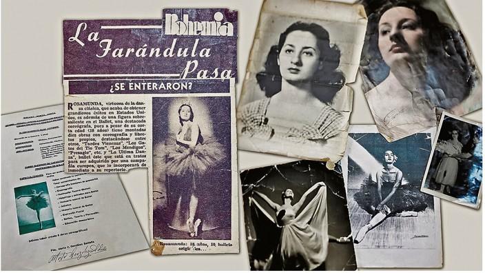 Ballerina Marta Cinta: Aus dem Nachlass von Marta Cinta, die im März in einer Senioreneinrichtung starb, lassen sich einige Stationen ihres Lebens rekonstruieren. Manches bleibt hinter Retuschen verborgen.