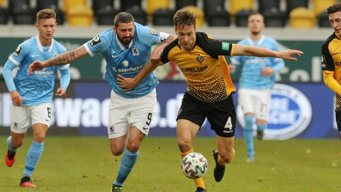 Dynamo Dresden v TSV 1860 Muenchen - 3. Liga