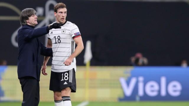 Nationalmannschaft: Bundestrainer Löw und Leon Goretzka in der Nations League 2020