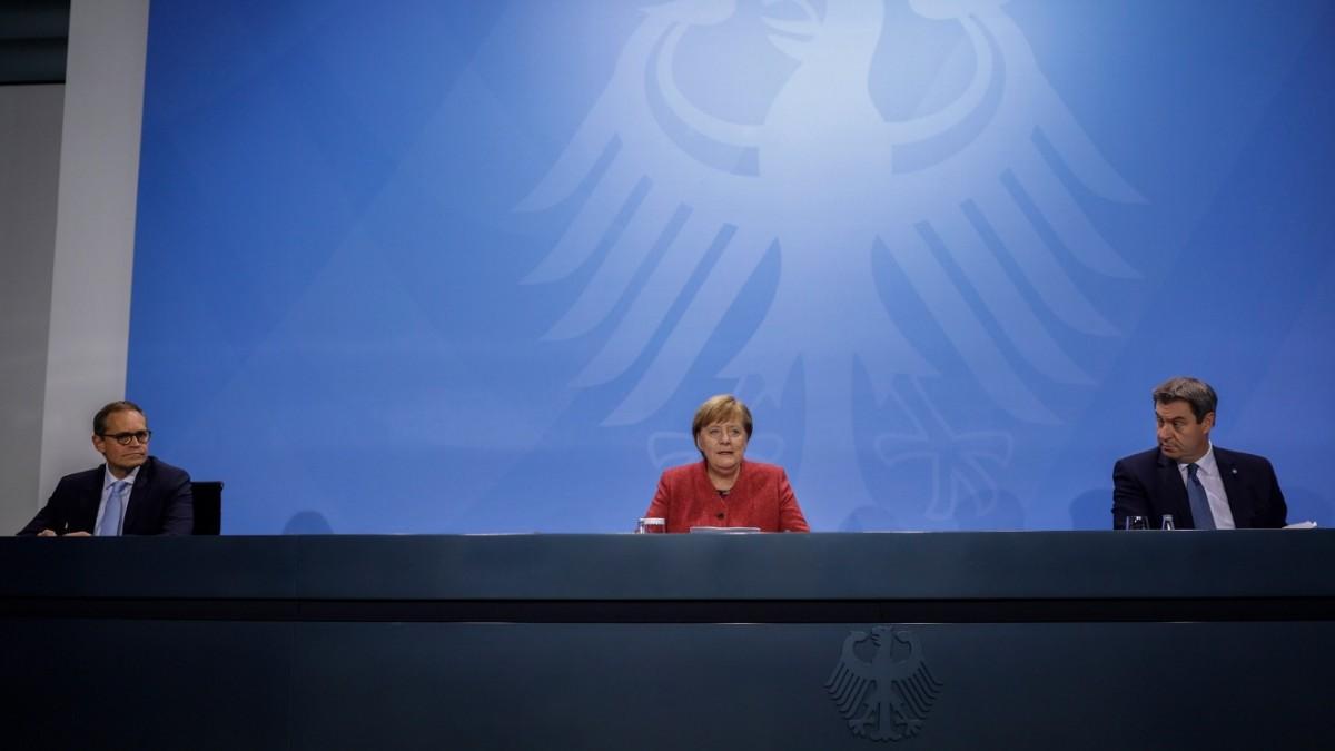 Merkel und die Ministerpräsidenten zu Corona