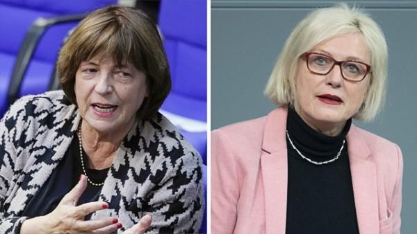 SPD: Bundestagsabgeordnete Ulla Schmidt und Dagmar Ziegler