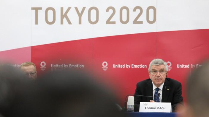 IOC-Präsident Bach in Japan