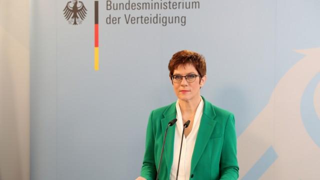 Grundsatzrede Annegret Kramp-Karrenbauer