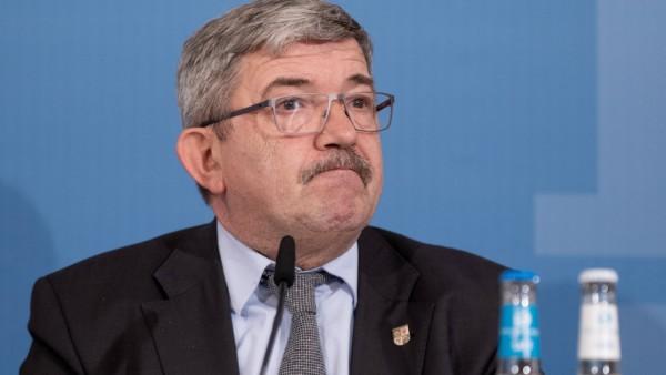 Innenministerkonzerenz der Nordländer zur Bekämpfung von Rechtsextremismus - Lorenz Caffier, Innenminister Mecklenburg-