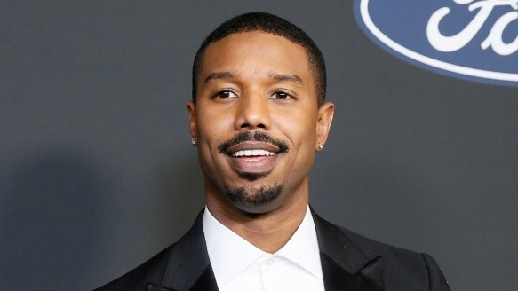 "FILE PHOTO: 51st NAACP Image Awards âÄ"" Photo RoomâÄ"" Pasadena - MIchael B. Jordan poses backstage with his Outstanding Actor"