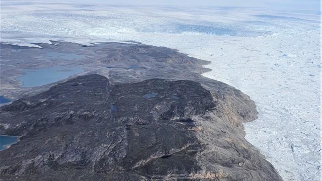 Jakobshavn Isbræ Glacier
