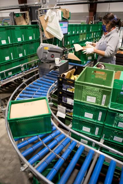 Packstation Isarland Ökokiste, Taufkirchen. Corona-Umsatzrekord beim Geschäftsmodell Bio-Kiste