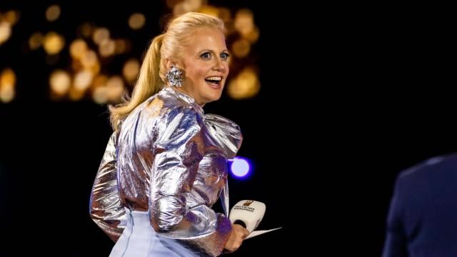Hamburg, 10. September 2020 - Barbara Schöneberger während des Deutschen Radiopreises 2020 im Hamburger Schuppen 52 ***