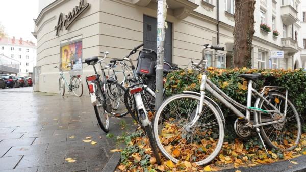 Fahrräder Ickstattstraße