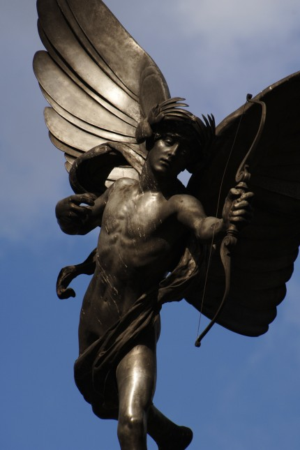 Statue of Anteros by Alfred Gilbert.