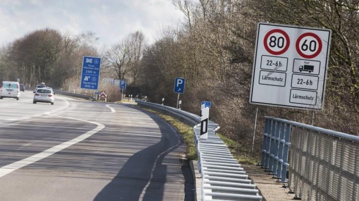 Oberhaching, A995 Lärmschutz