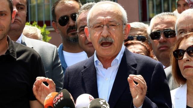 Türkischer Oppositionsführer Kemal Kilicdaroglu