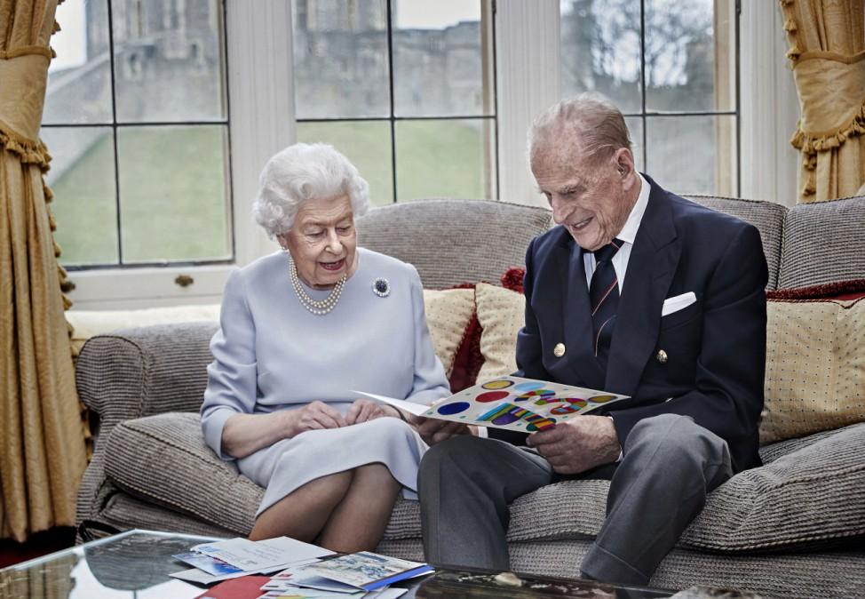 Hochzeitstag - Königin Elisabeth II. und Prinz Philip