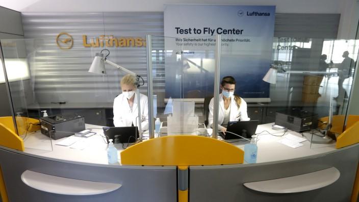 Lufthansa Corona-Test