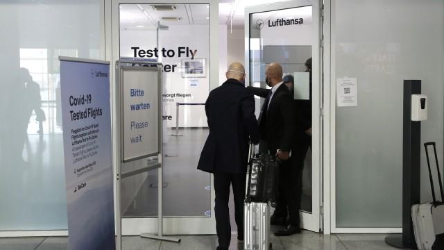 Lufthansa test center
