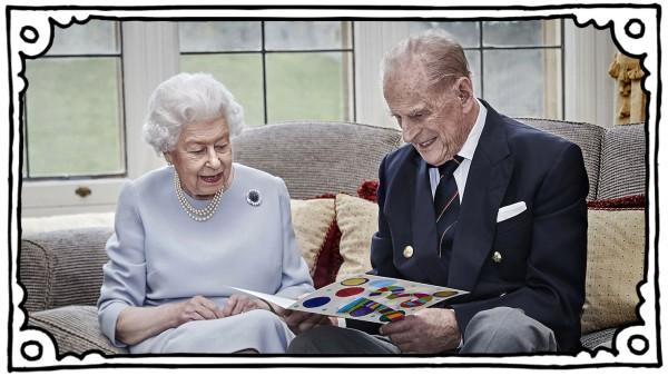 Queen & Duke Of Edinburgh 73rd Wedding Anniversary Official Portrait