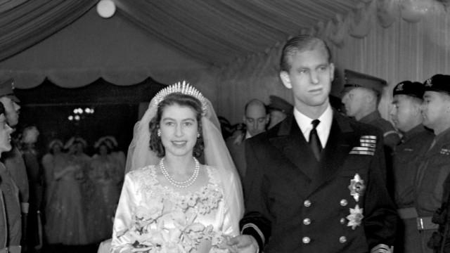 Hochzeitstag Königin Elizabeth II. und Prinz Philip