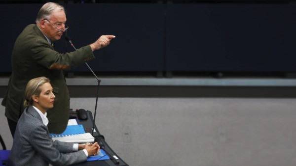 Merkel Speaks At Bundestag Following Summer Recess
