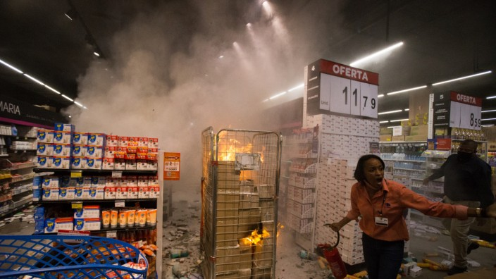 Empörung über tödlichen Angriff auf Schwarzen in Brasilien