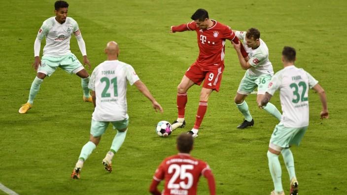 Bundesliga - Bayern Munich v Werder Bremen