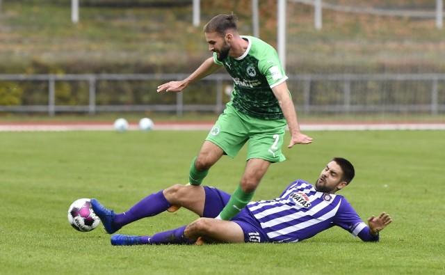 13.11.2020 - Fussball - Saison 2020 2021 - Testspiel / Freundschaftsspiel: SpVgg Greuther Fürth ( Kleeblatt ) - FC Erzg