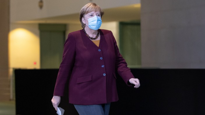 Merkel Speaks Following Virtual Meeting With European Council