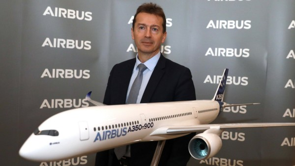 February 13, 2020, Blagnac, Occitanie, France: February 13, 2020 - Blagnac, France - AIRBUS PRESS CONFERENCE - Guillaum
