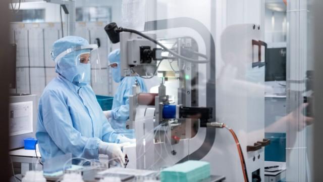 Nordrhein-Westfalen fördert Produktion von Corona-Tests