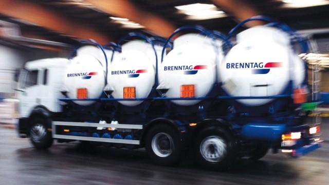 Brenntag -  Tanklastwagen