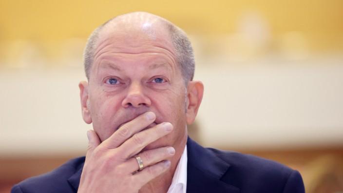 Scholz stellt neue Steuerschätzung vor