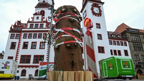 Weihnachten auf dem Chemnitzer Markt